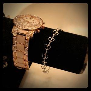 Jewelry - ♡ Dainty heart bracelet ♡